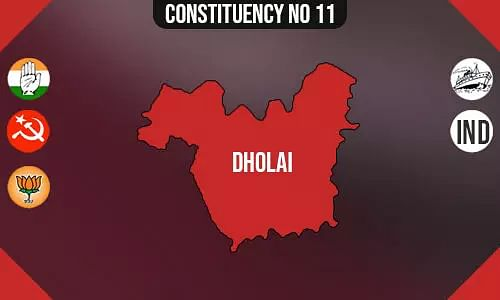 Dholai Polling Booths List, Election & Counting Date & Candidates Contesting from Dholai Constituency Seat