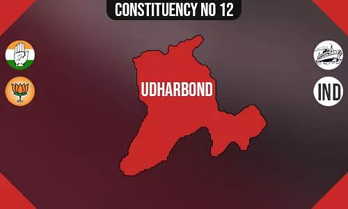 Udharband Constituency - Population, Polling Percentage, Facilities, Parties Vote Share, Last Election Results