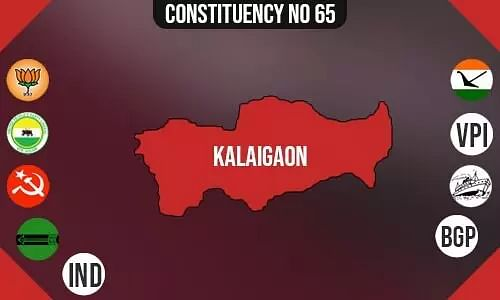 Kalaigaon Constituency - Population, Polling Percentage, Facilities, Parties Vote Share, Last Election Results