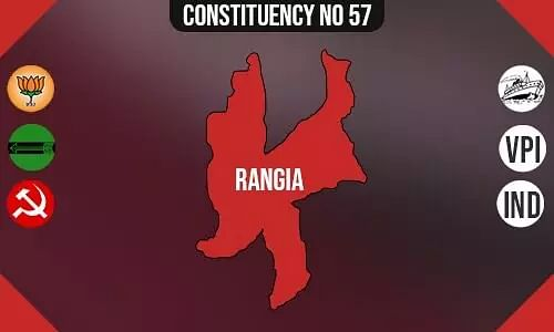 Rangia Constituency - Population, Polling Percentage, Facilities, Parties Vote Share, Last Election Results