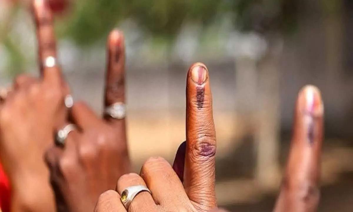 75.84% voter turnout registered in Kamrup (M)