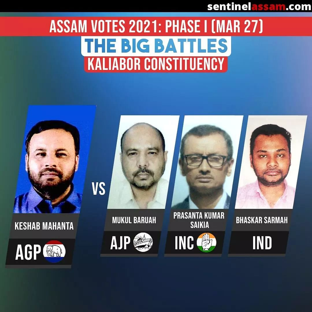 Key Candidates in the Fray in Phase 1 of Assam Polls 2021; Big Battles to Watch Out For
