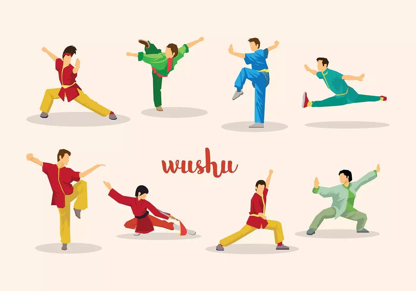 Assam shine in the 20th Sub-Junior National (Boys & Girls) Wushu Championship