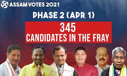 Assam Polls 2021: Important Facts and Figures as Assam Votes in Phase 2 (Apr 1)