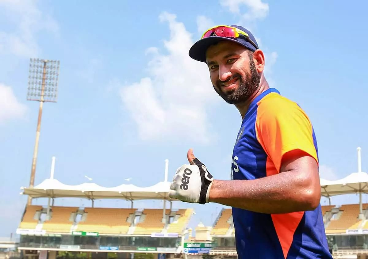 Cheteshwar Pujara changes stance for IPL, smashes sixes in training