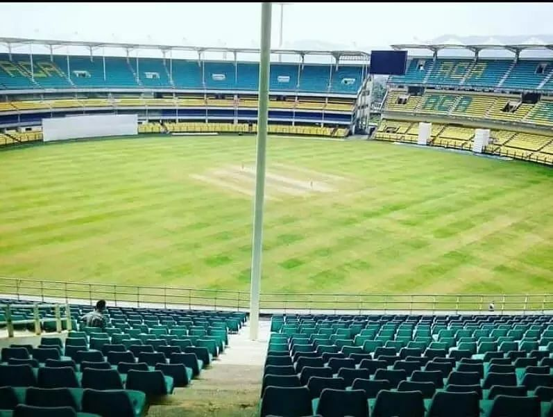 Jay Shah visits ACA stadium