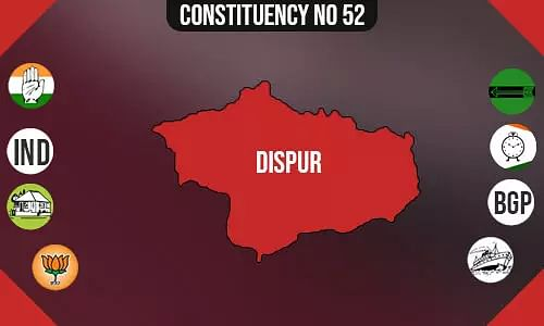Dispur Assembly - Population, Polling Percentage, Facilities, Parties Vote Share, Last Election Results