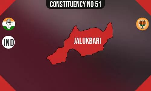 Jalukbari Assembly Constituency - Population, Polling Percentage, Facilities, Parties Vote Share, Last Election Results