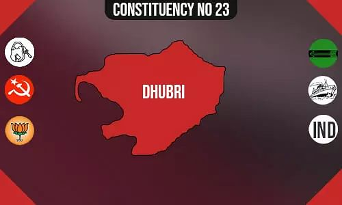 Dhubri Assembly - Population, Polling Percentage, Facilities, Parties Vote Share, Last Election Results