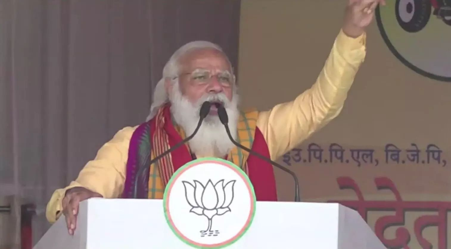 The double-engine govt of NDA has given double benefits to the people of Assam: PM Modi