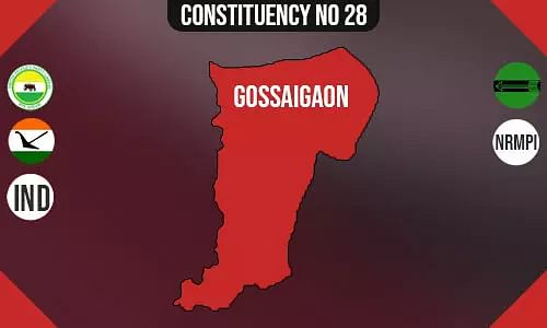 Gossaigaon Assembly Constituency - Population, Polling Percentage, Facilities, Parties Vote Share, Last Election Results