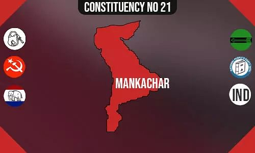 Mankachar Polling Booths List, Election & Counting Date & Candidates Contesting from Mankachar Constituency Seat