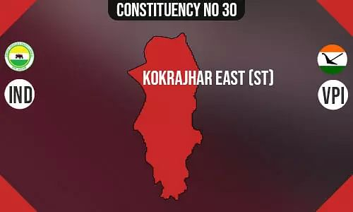 Kokrajhar East Assembly Constituency - Population, Polling Percentage, Facilities, Parties Vote Share, Last Election Results