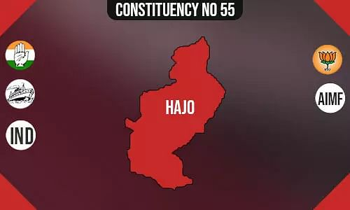 Hajo Assembly - Population, Polling Percentage, Facilities, Parties Vote Share, Last Election Results