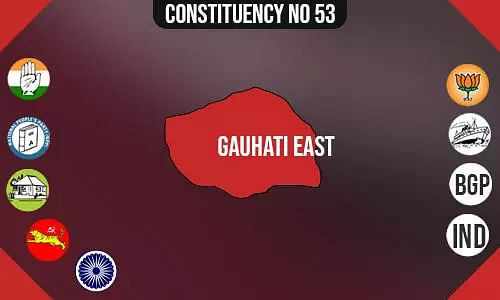 Gauhati East Assembly Constituency - Population, Polling Percentage, Facilities, Parties Vote Share, Last Election Results