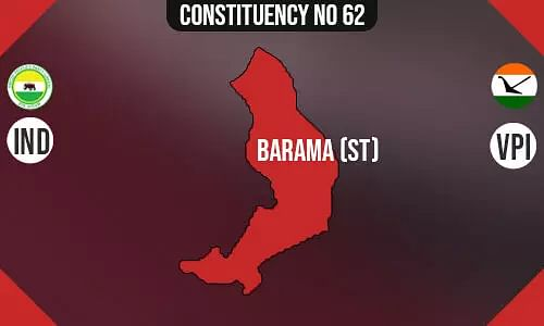 Barama Polling Booths List, Election & Counting Date & Candidates Contesting from Barama Constituency Seat