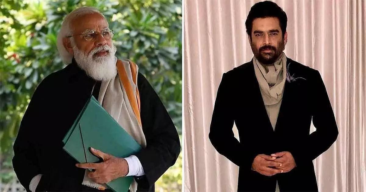 R Madhavan,  Narendra Modi