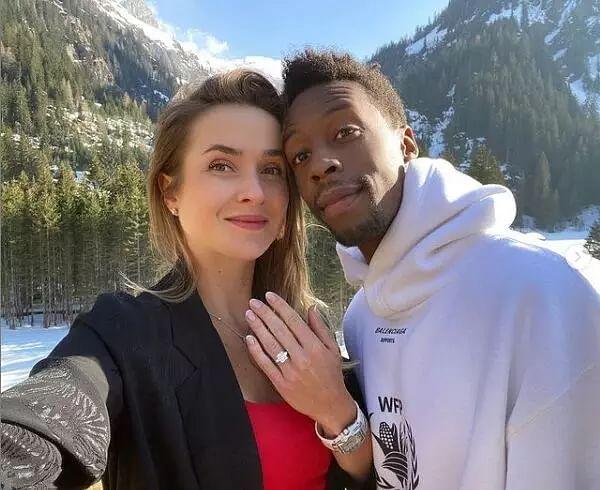 Gael Monfils, Svitolina get engaged