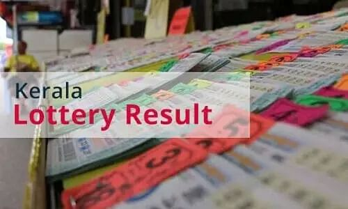 Todays Kerala State Lottery Result Online - 06 April - Check here