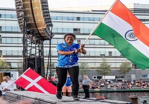 Indian sailor Nethra Kumanan bounces back to be in contention for Olympic berth