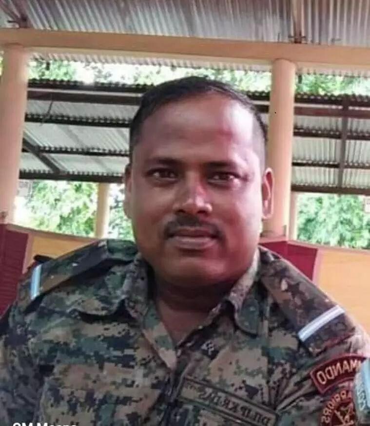 Tribute paid to martyr jawan Dilip Kumar Das