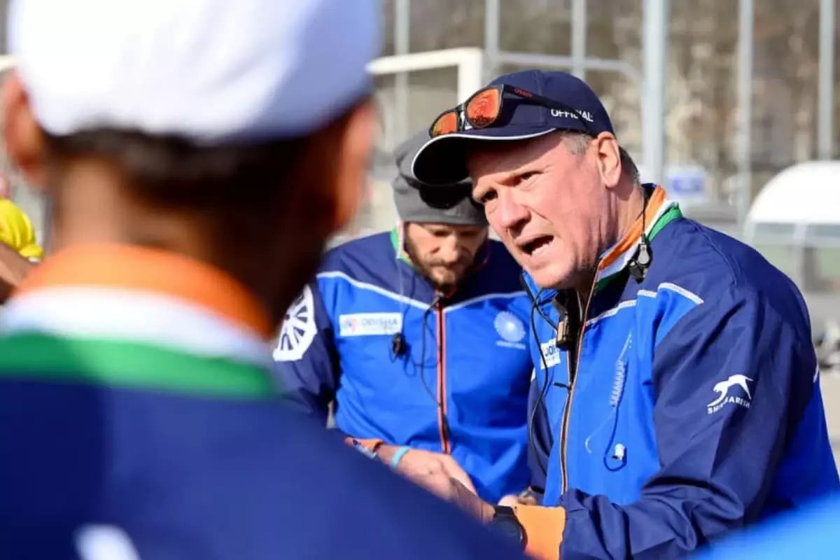 Hockey coach Graham Reid asks Indian players to be more consistent