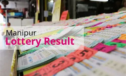 Manipur Lottery Results Today - 09 April21 - Manipur State Singam Morning, Evening Lottery Result