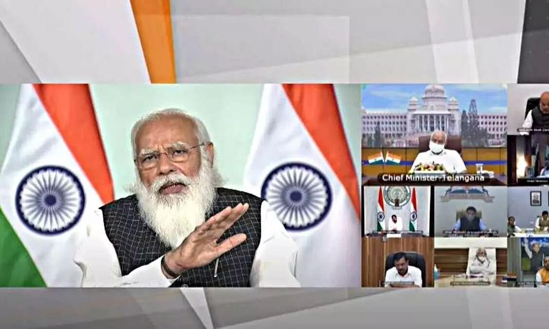 Modi spells Corona mantra: Test, track and treat