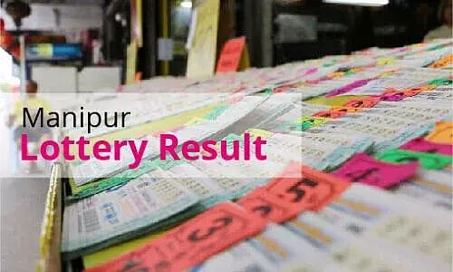 Manipur Lottery Results Today - 10 April21 - Manipur State Singam Morning, Evening Lottery Result