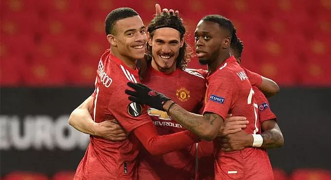 Manchester United through to Europa League last four with 4-0 win over Granada