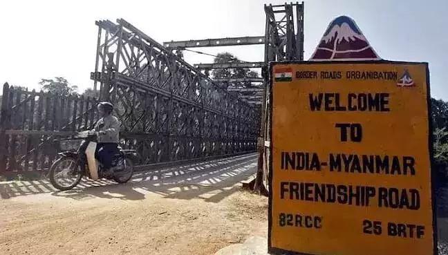 India-Myanmar border
