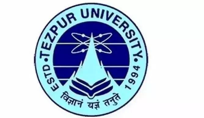 Tezpur University Recruitment 2021 - Junior Research Fellow Vacancy, Latest Jobs