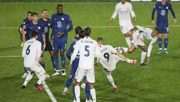 Chelsea earn 1-1 draw at Real Madrid in Champions League semis