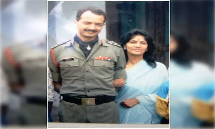 Colonel Ajit Datta & Mrs Anuradha Datta