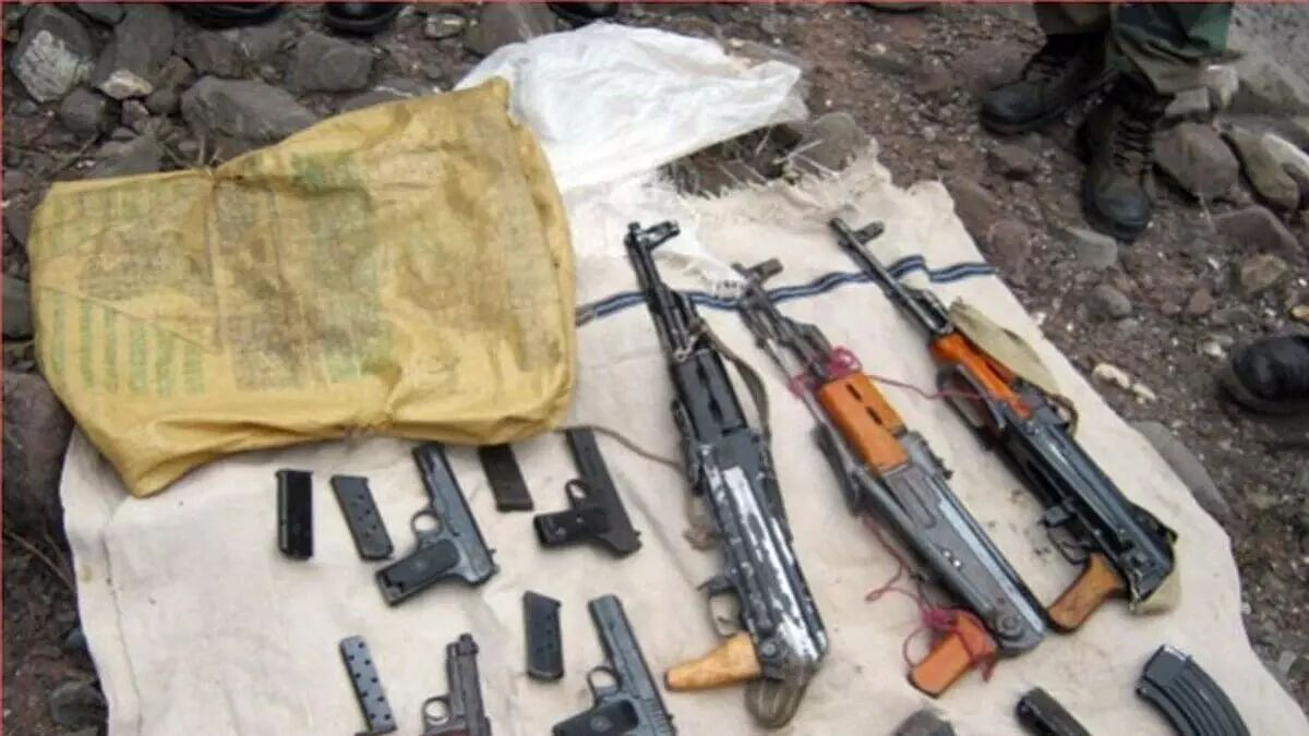 Arms cache recovered in Jammu Kashmirs Doda