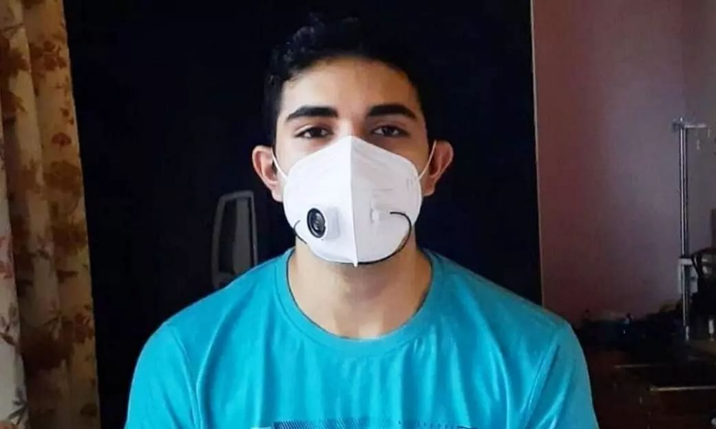 This Thrissurkaran Invented Masks With Mics For Safe Communication