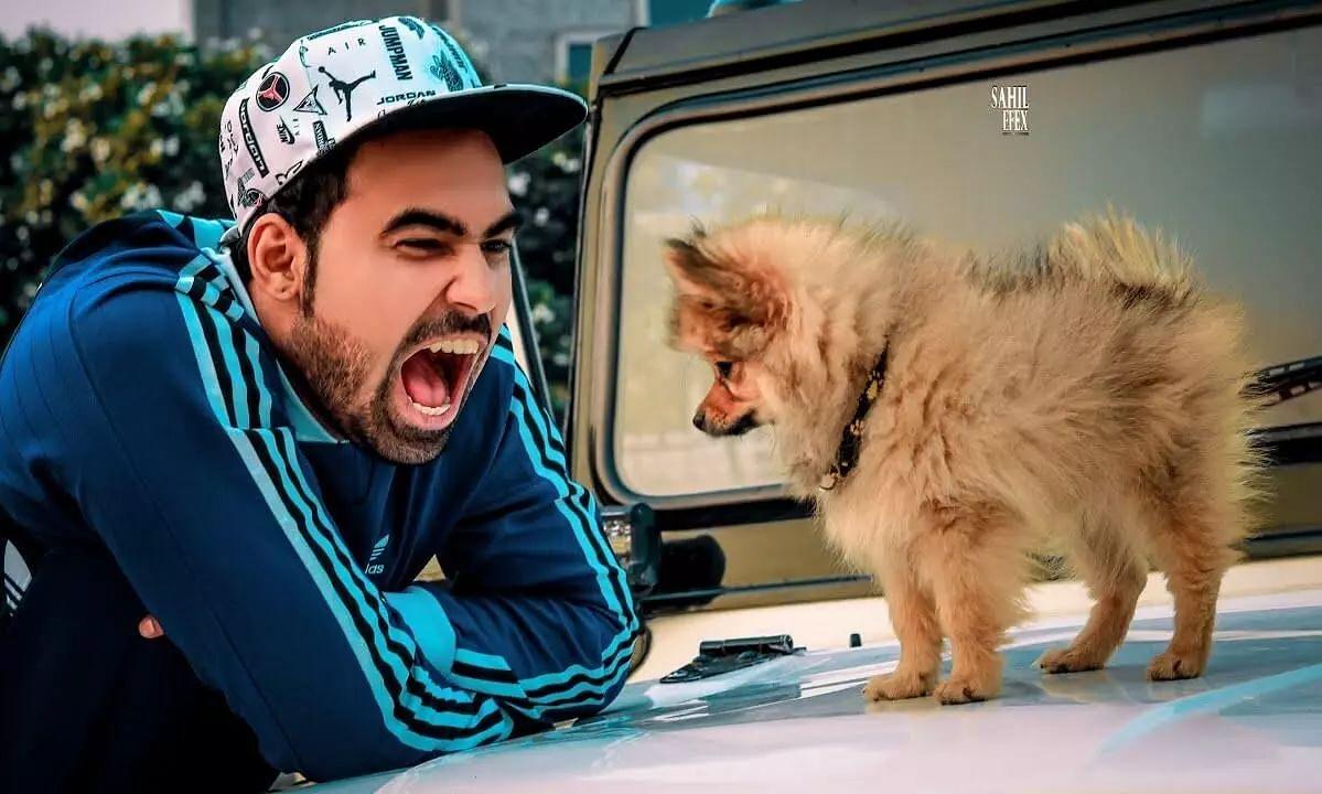 Delhi-Based YouTuber Gaurav Arrested for Flying his Pet Dog with Hydrogen Balloons