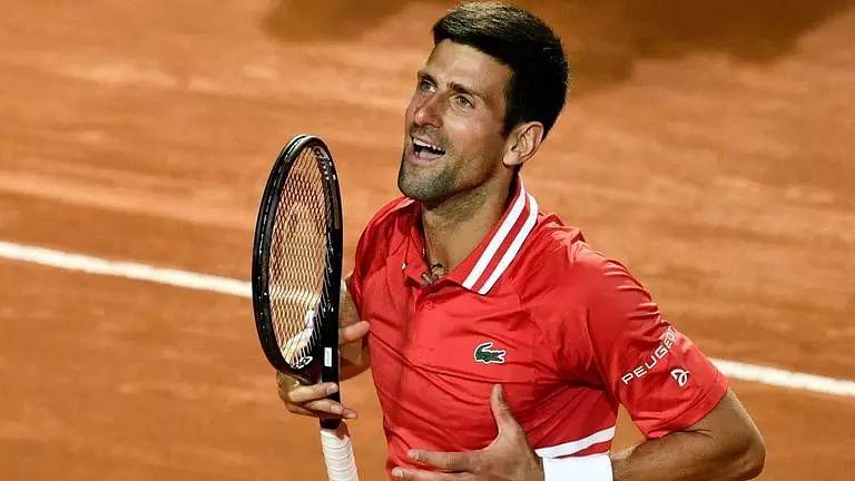 Novak Djokovic enters final after qualifier stretches him