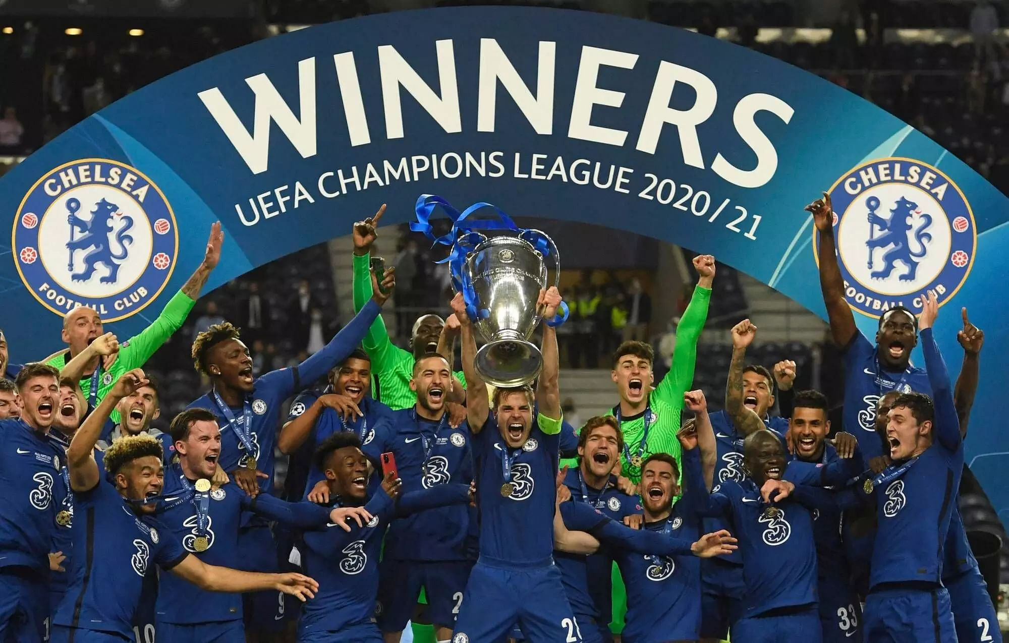 Chelsea down Man City to win Champions League