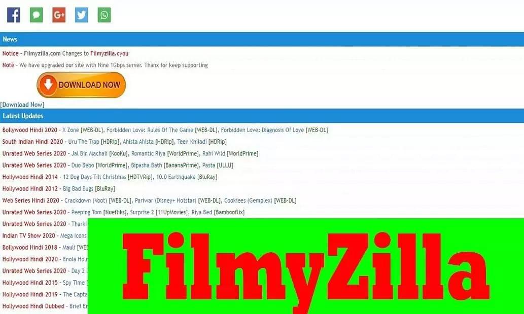 Filmyzilla movies and news updates 2021