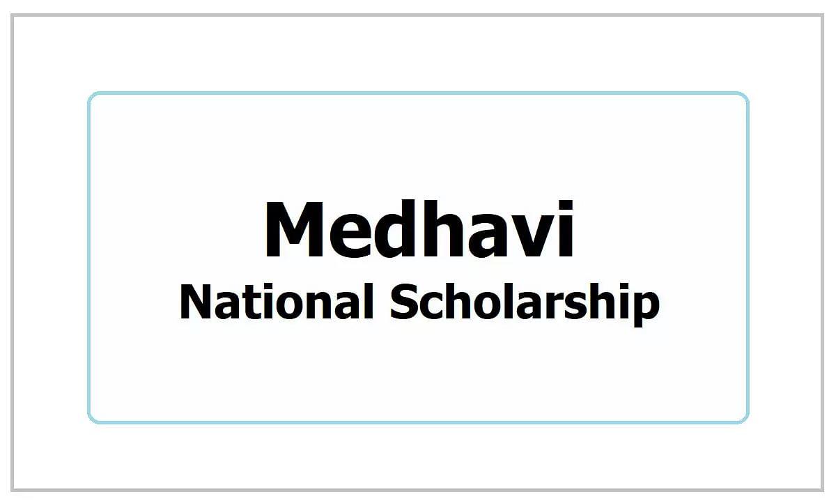 Medhavi National Scholarship Scheme: Free Registration for Scholars of 10th, 12th, Graduates, and Post Graduates