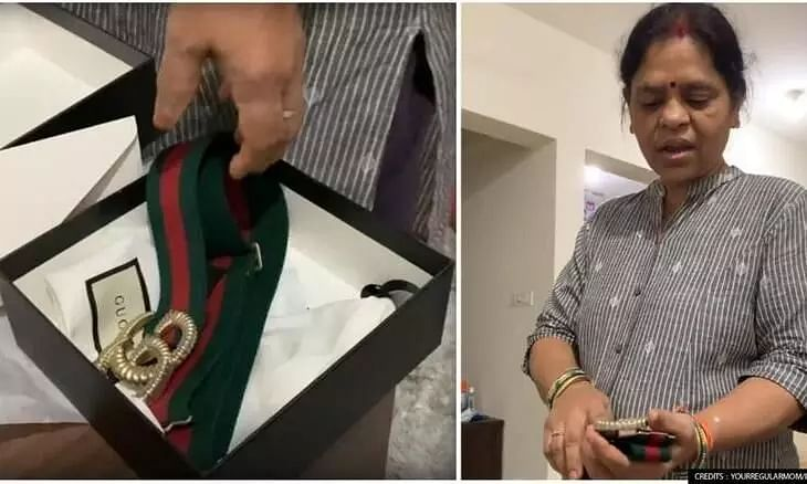 Watch: Mothers Shocking Reaction to Daughters Expensive Gucci Belt, Compares It to DPS School Belt