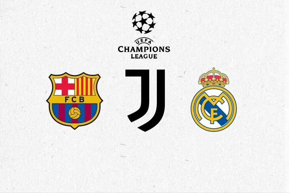 Juventus, Barcelona and Real Madrid in Champions League next season