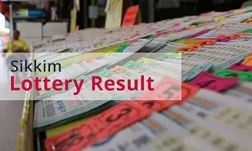 Sikkim State Lottery Results Today - 18 October 21 - Sikkim Lottery Sambad Evening Result Live Update