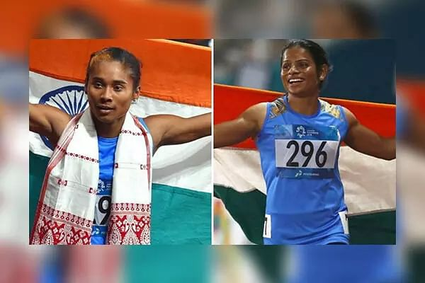 Dutee, Hima power India A to win with national record in Indian GP relay