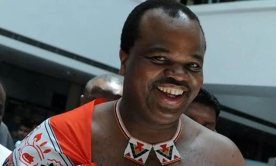The Modern-Day King of an African Nation who has 15 Wives, Several Concubines
