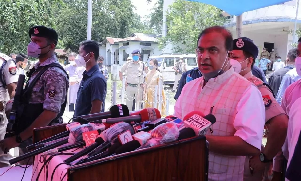Assam CM Sarma Visits Family of 9-Year-Old Rape and Murder Victim, Assures Speedy Justice