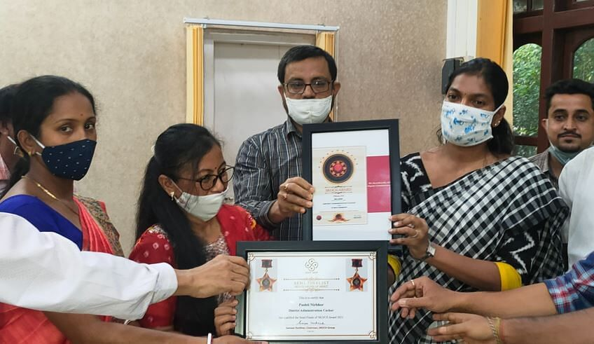 Cachar DC Keerthi Jalli on receiving National SKOCH award - Sentinelassam