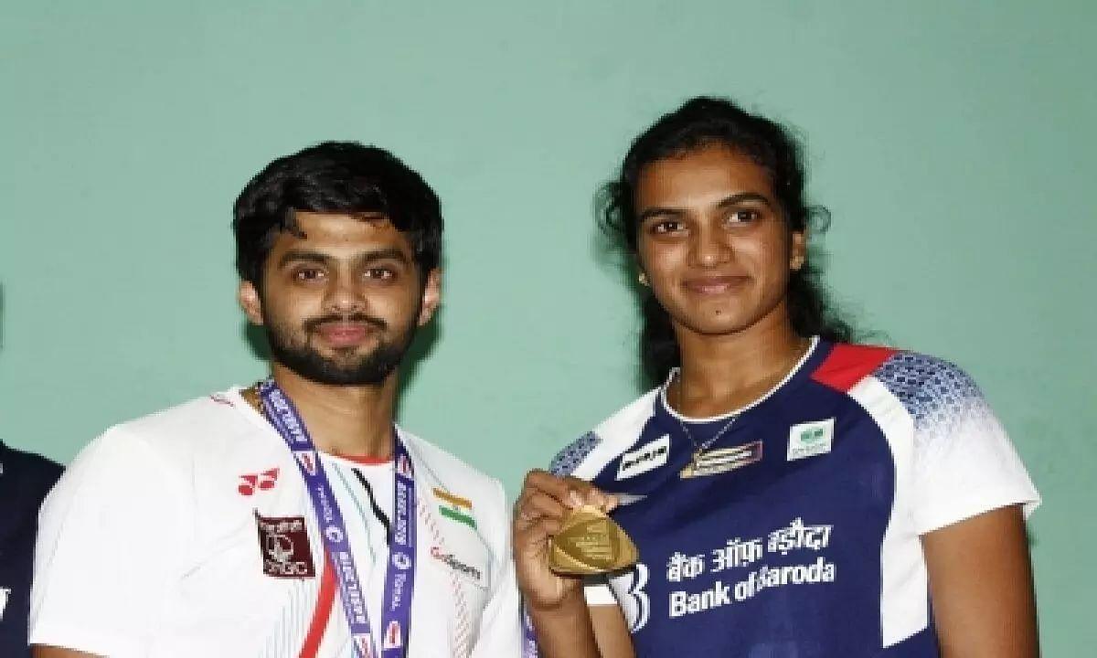 PV Sindhu, Praneeth, TT players have first training