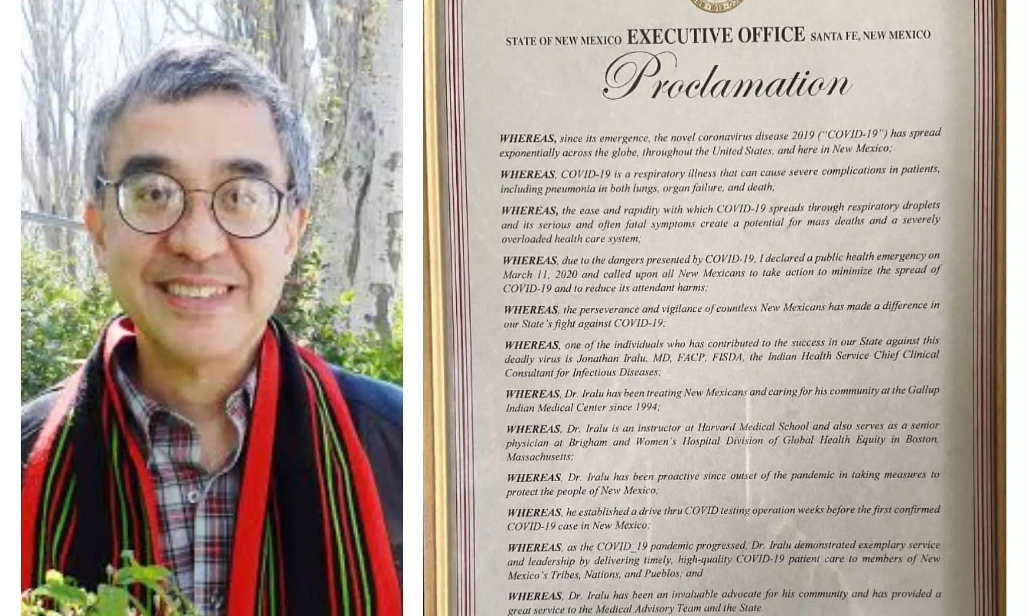 New Mexico Celebrates July 19 in Name of Naga Doctor Jonathan Iralu